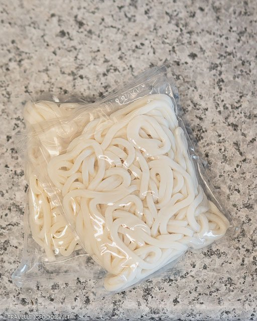 Two Packs of Instant Udon Noodles