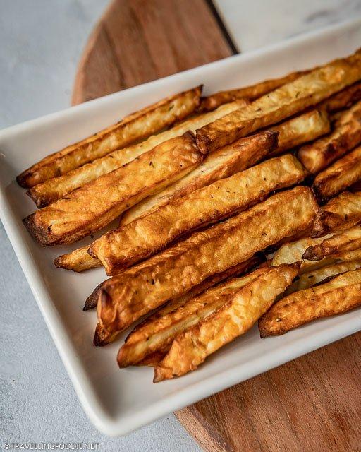 Air Fried Homemade Crispy Fries