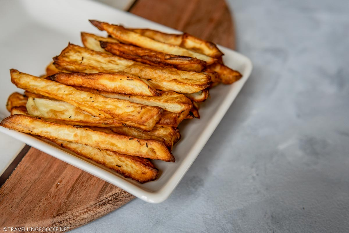 Golden Brown Crispy Air Fried French Fries