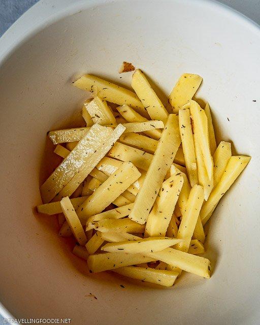 Sliced Potatoes Sticks
