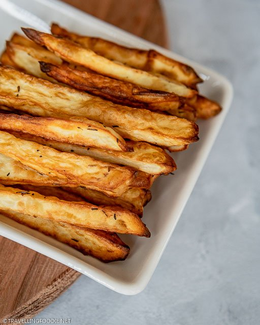 Homemade Air Fryer French Fries