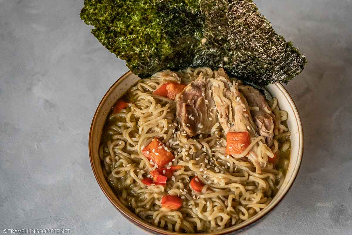 How To Make Instant Pot Thai Curry Chicken Noodle Soup Recipe