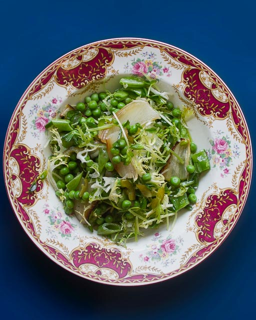 Donna's Pea Salad in Uptown Toronto