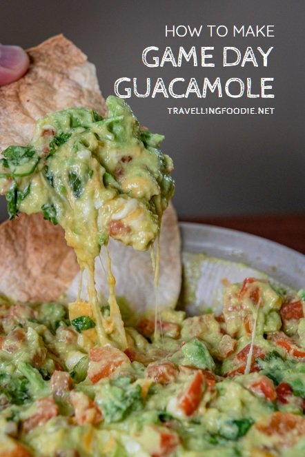 How To Make Game Day Guacamole on TravellingFoodie.net