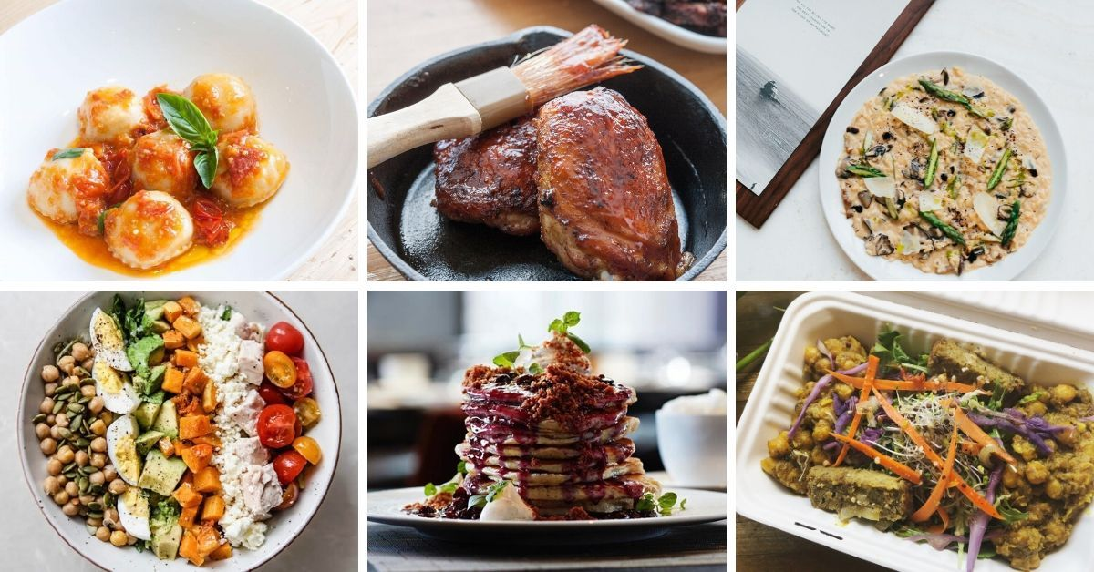 TOCA Ravioli Caprese, Barque BBQ Chicken, Ricarda's Risotto, The Green Wood Cobb Salad, ONE Restaurant Blueberry Buttermilk Pancakes, Veggie D'Light Curry Supreme - Toronto Restaurants Signature Recipes