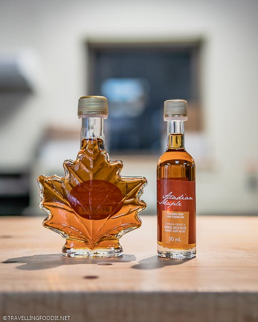 Acadian Maple's Pure Maple Syrup mini bottle