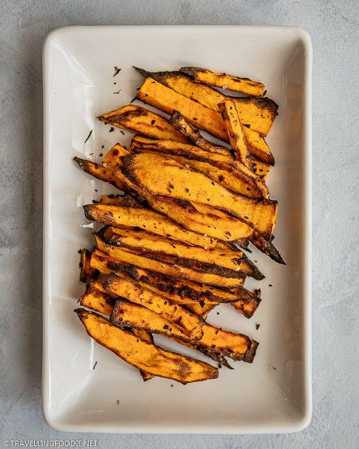 Crispy Sweet Potato Fries using Air Deep Fryers