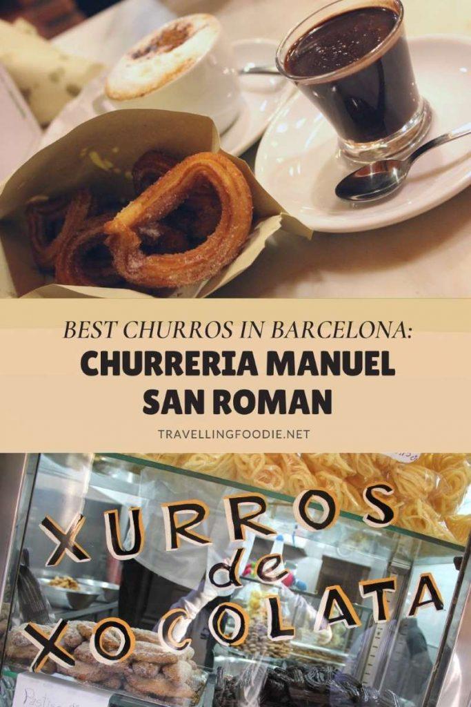 Best Churros in Barcelona: Churreria Manuel San Roman - Read on TravellingFoodie.net
