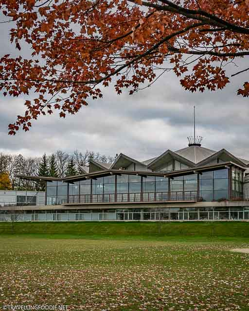 Festival Theatre in Stratford, Ontario during Fall