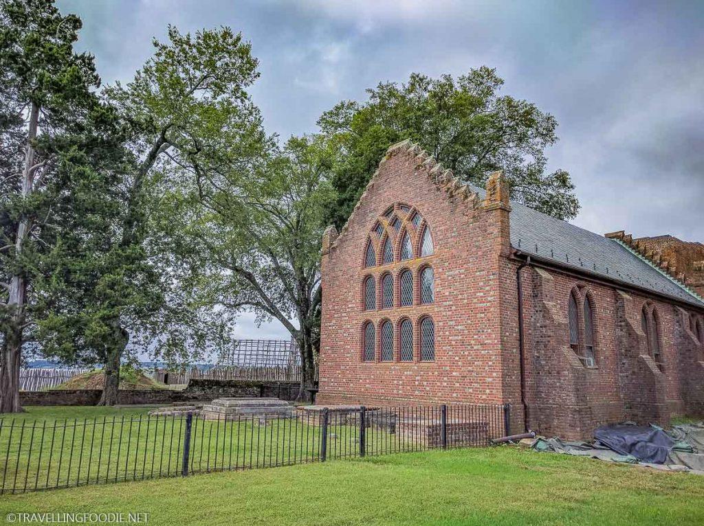 Jamestown Church in Historic Jamestowne