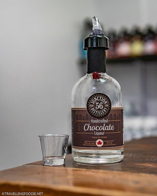 Junction 56 Distillery Handcrafted Chocolate Liqueur Tasting in Stratford, Ontario