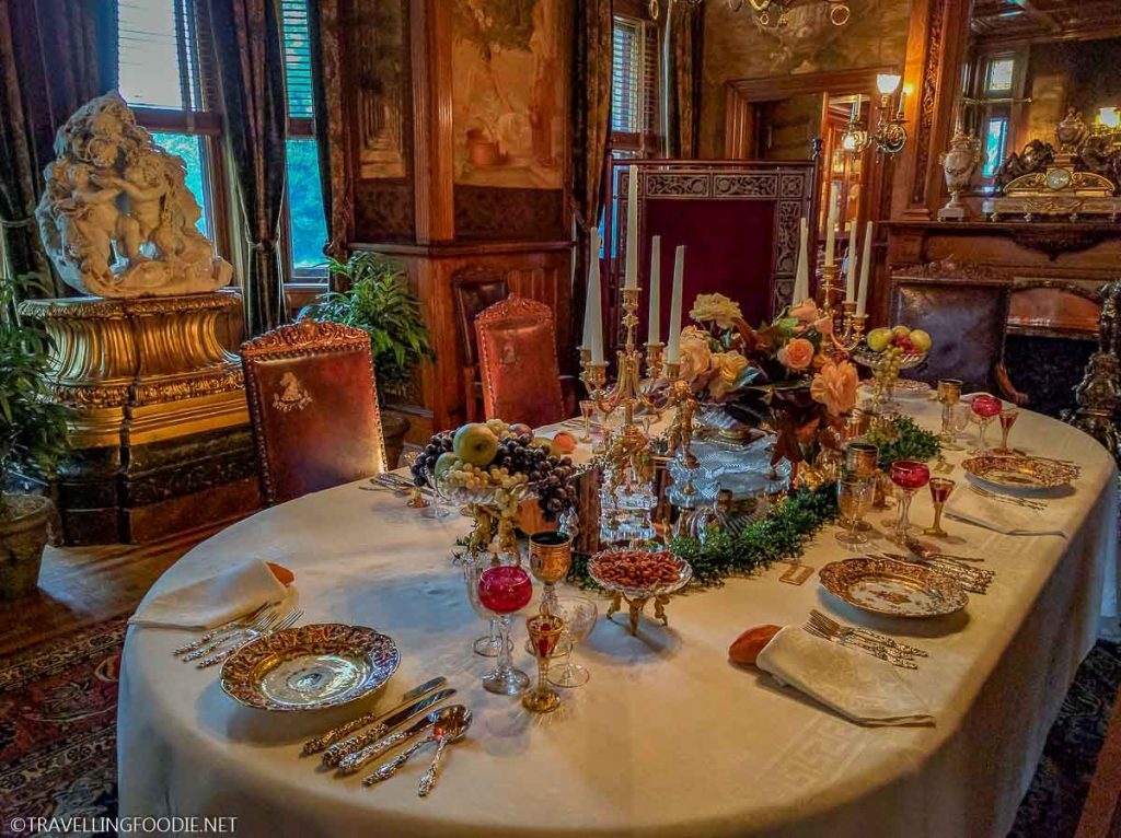 Dining Room at Maymont in Richmond, Virginia