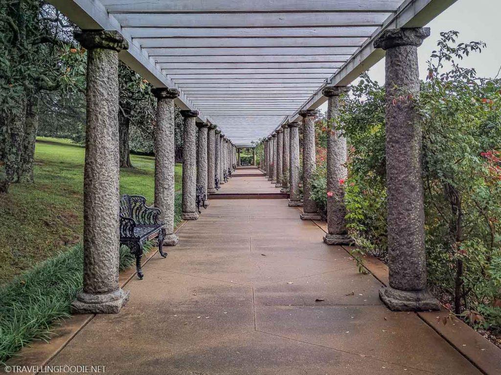 Garden Path at Maymont in Richmond, Virginia