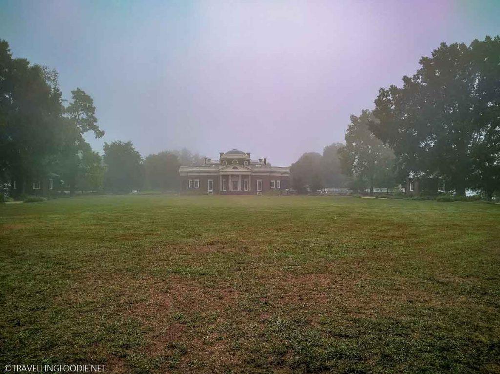 Monticello's West Lawn