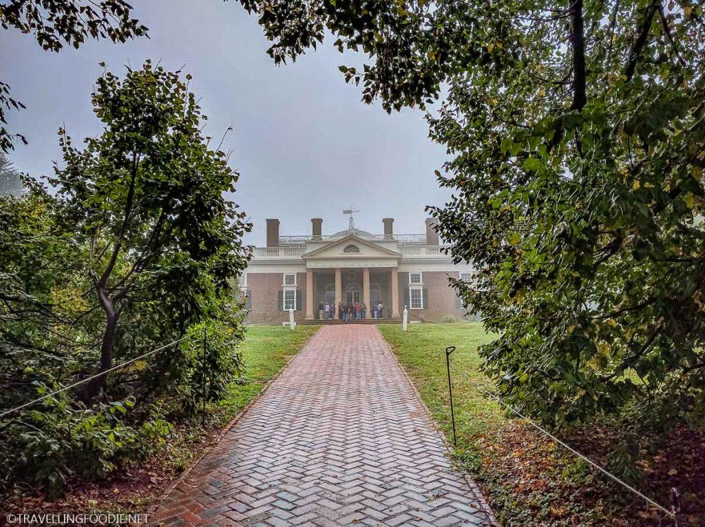 Monticello Plantation in Charlottesville, Virginia