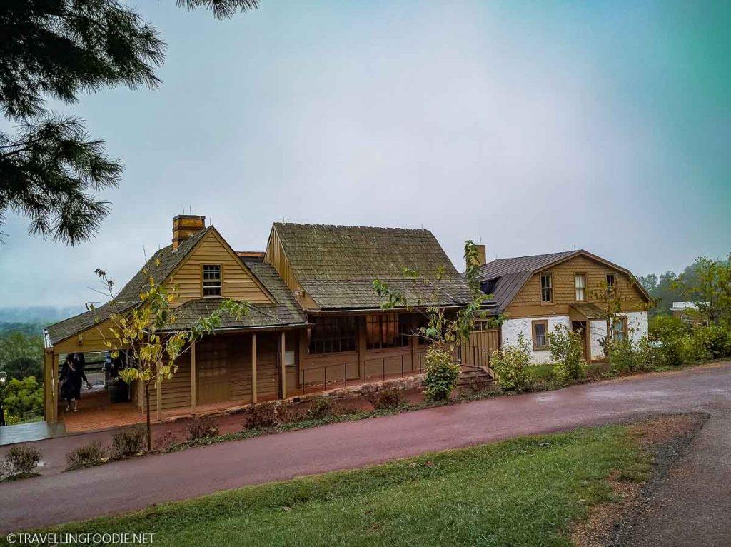 Thomas Jefferson's Monticello Stable in Charlottesville, Virginia