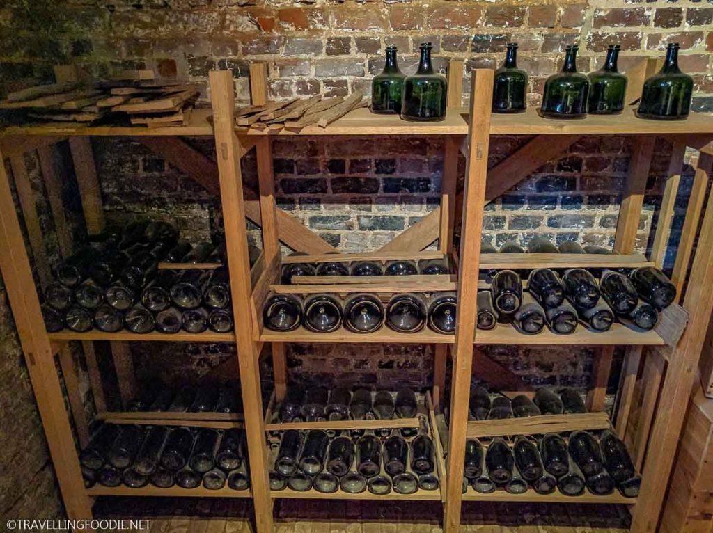 Wine Cellar at Monticello in Charlottesville, Virginia