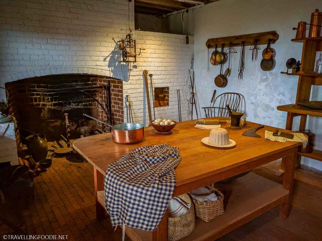 Kitchen at Monticello