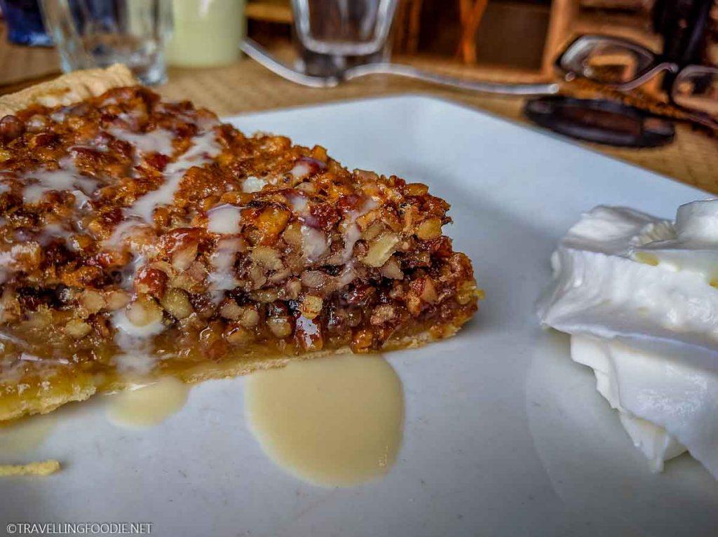 Pecan Pie at The Pollock Dining Room in Skyland