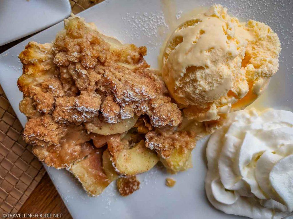Seasonal Apple Pie at Skyland's The Pollock Dining Room