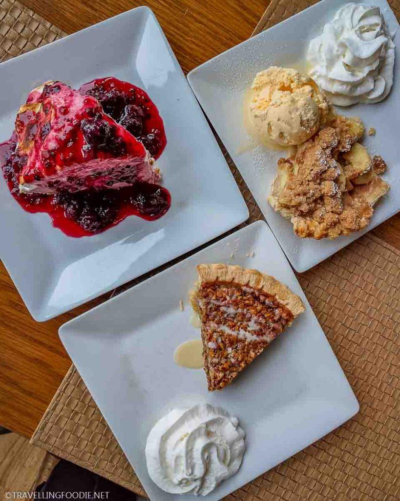 Dessert Spread at Skyland in Shenandoah National Park