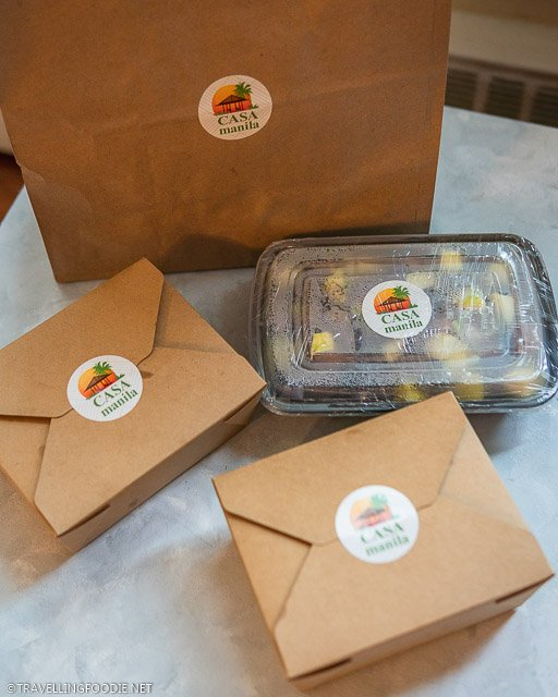 Delivery Boxes from Casa Manila in Toronto, Ontario