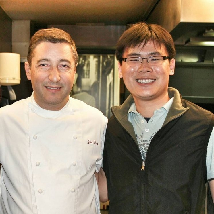 Chef Joan Roca and Travelling Foodie Raymond Cua at El Celler de can Roca in Girona, Spain