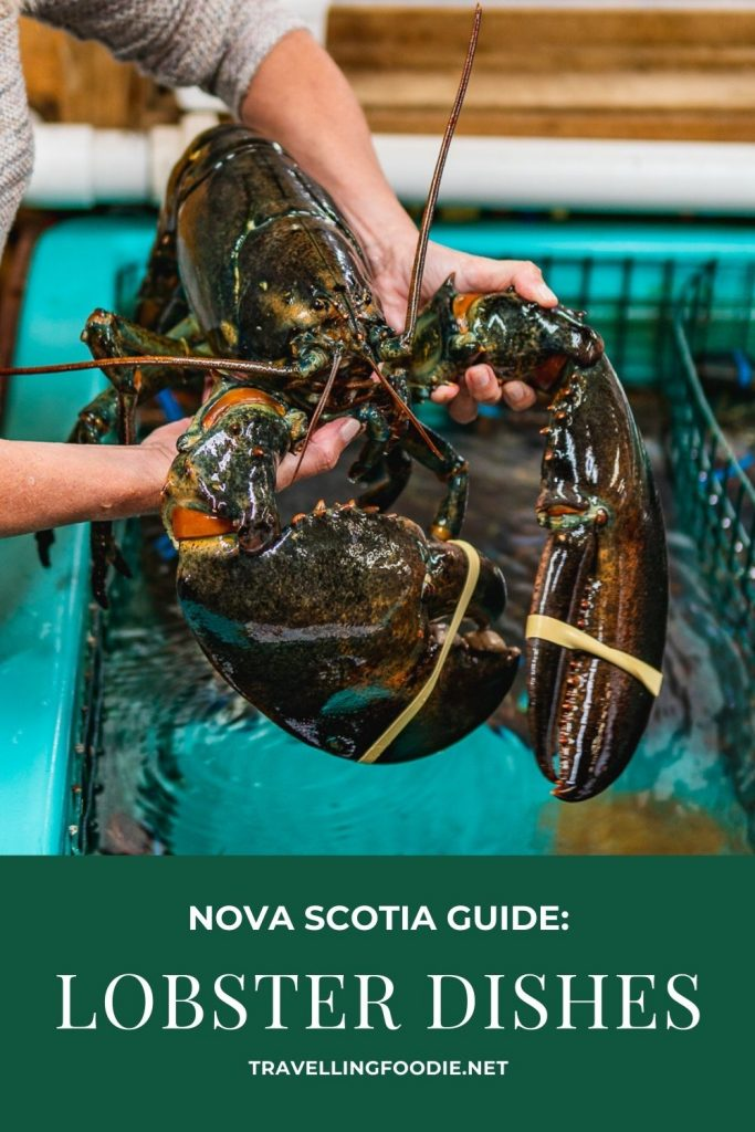 Nova Scotia Guide to Lobster Dishes on TravellingFoodie.net