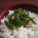 Sea Grapes on Rice Bowl
