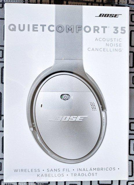 Bose QuietComfort 35 Acoustic Noise Cancelling Headphones Box