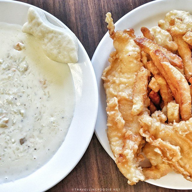 Fish and Chips and Chowder at Ches's Fish and Chips in St. John's, Newfoundland