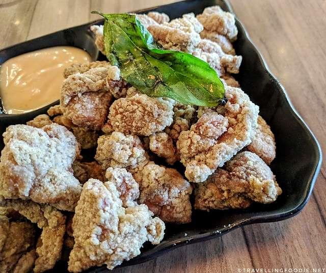 Taiwanese Crispy Chicken at Cha Me. Cha in Markham, Ontario