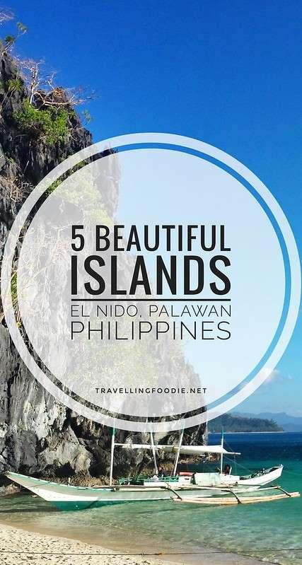 5 Beautiful Islands in El Nido in the Philippines on TravellingFoodie.net