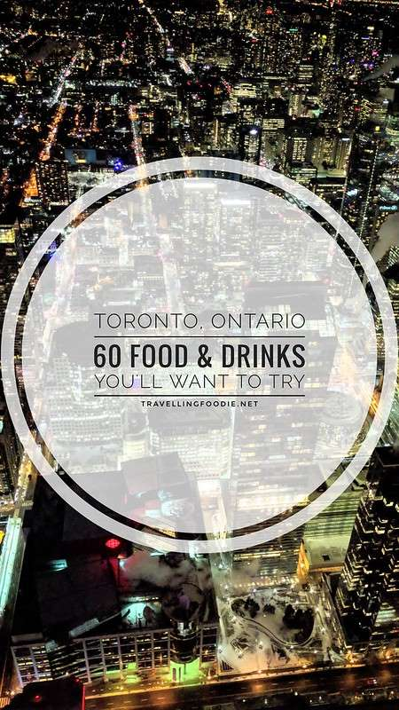 Toronto Must-Try Food and Drinks including Bar Reyna, Bar Raval, Zen Japanese Restaurant, Otto's Bierhalle, Congee Queen, Kiin and Richmond Station.